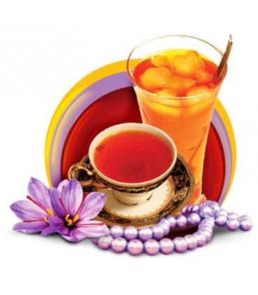 شربت گلاب زعفران